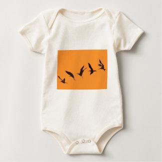 Ausgezeichnete Fregattevogel Galapagos-Inseln Baby Strampler
