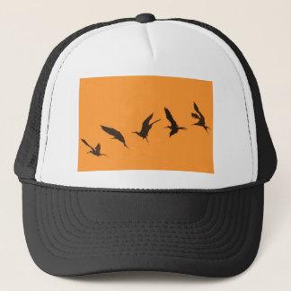 Ausgezeichnete Fregattevogel Galapagos-Inseln Truckerkappe