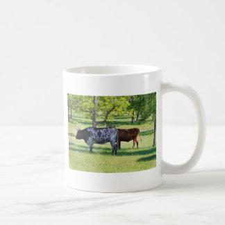 Ausgezeichnete Ochsen Texas Longhorn Kaffeetasse