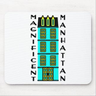 Ausgezeichnetes Manhattan mit Luxus-NYC Stadtwohnu Mousepad