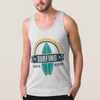 Auslader Mann das Jersey Ende Surfingsthema Tank Top