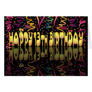 Ausläufer alles Gute zum Geburtstag 13 Karte