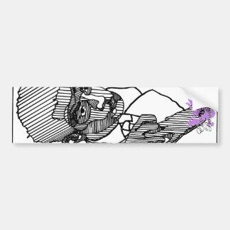 Auslese-Bandit Button-Oben Künstler-Reihe # 1 Autoaufkleber