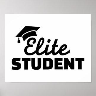 Auslese-Studenten-Abschluss Posterdruck
