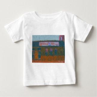 Ausrichtung setzen Mittemalerei durch Hirsch ein Baby T-shirt