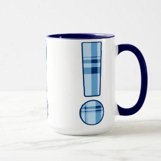 Ausrufs-Punkt-Tasse Tasse