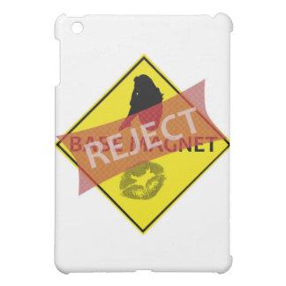 Ausschussbaby-Magnet-Verkehrsschild iPad Mini Hülle