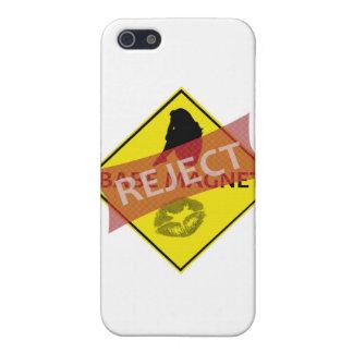 Ausschussbaby-Magnet-Verkehrsschild iPhone Fall iPhone 5 Etuis