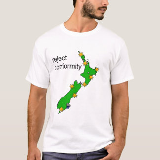 Ausschussübereinstimmungs-Dunedin-Wetter-T - Shirt