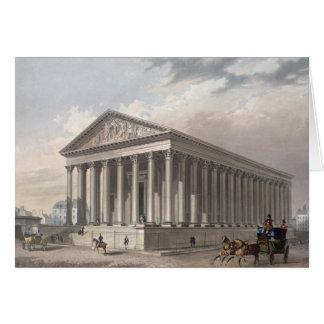Außenansicht der Madeleines Paris Karten