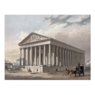 Außenansicht der Madeleines, Paris Postkarte