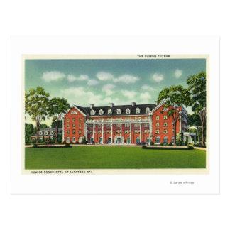 Außenansicht des Gideon Putnam Hotels Postkarte