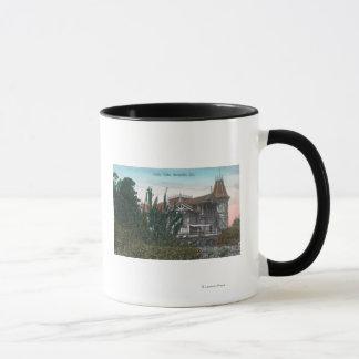 Außenansicht des Stechpalmen-Eichen-Gebäude Tasse