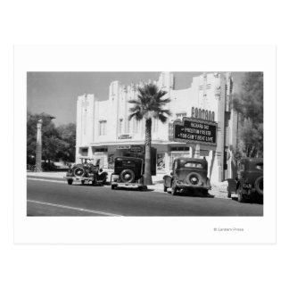 Außenansicht von Fontana-Theater Postkarte