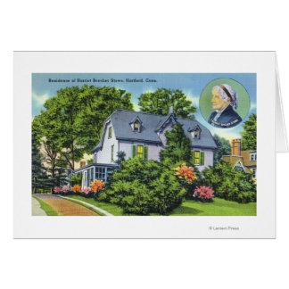 Außenansicht von Harriet Beecher Stowes Karte