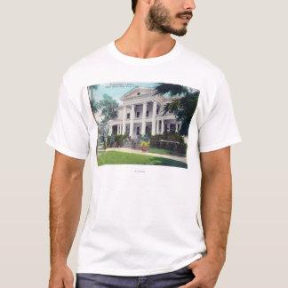 Außenansicht von House Kommandanten, Marine-Yard T-Shirt