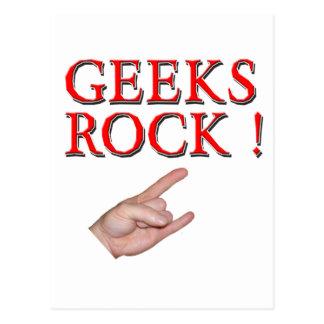 Aussenseiter-Felsen!  mit der Hand Postkarten