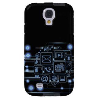 Aussenseiter-High-Teche Galaxy S4 Hülle