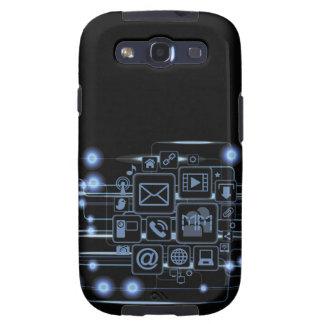 Aussenseiter-High-Teche Konzept-Initialen-Samsung- Samsung Galaxy S3 Hüllen