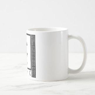 Aussenseiter ich! Durchschlag Kaffeetasse