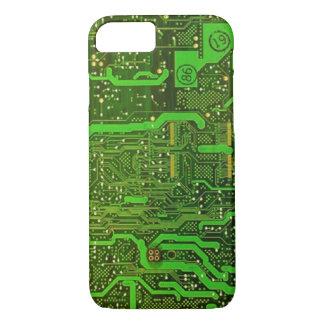 Aussenseiter-Mikrochipmuster iPhone 7 Fall iPhone 8/7 Hülle