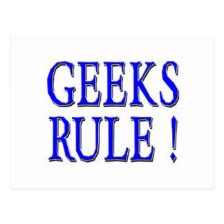 Aussenseiter-Regel!  Blau Postkarte