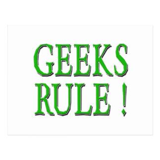 Aussenseiter-Regel!  Grün Postkarte