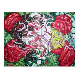 Aussenseiter-Salat von der ursprünglichen Postkarte