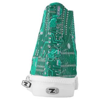 Aussenseiter-Schaltungsbrett-Tennisschuh Hoch-geschnittene Sneaker