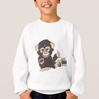 Aussenseiter-Schimpanse Sweatshirt
