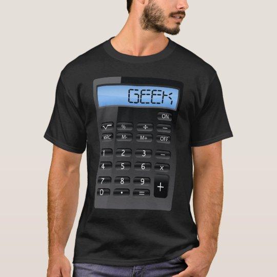 aussenseiter taschenrechner lustiges kost m t shirt. Black Bedroom Furniture Sets. Home Design Ideas