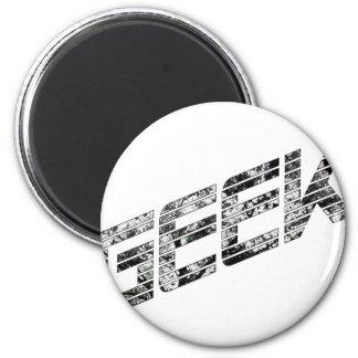 Aussenseiter Techie Material Runder Magnet 5,1 Cm