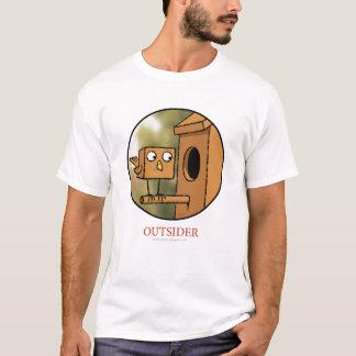 Außenseiter-Vogel-Shirt T-Shirt