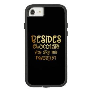 """Außer Schokolade"" iphone Fall Case-Mate Tough Extreme iPhone 8/7 Hülle"