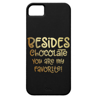 """Außer Schokolade"" iphone Fall Etui Fürs iPhone 5"