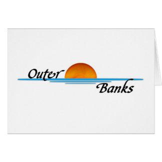Äußere Banken Karte
