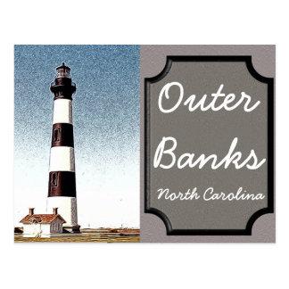 Äußere Banken - North Carolina - Postkarte