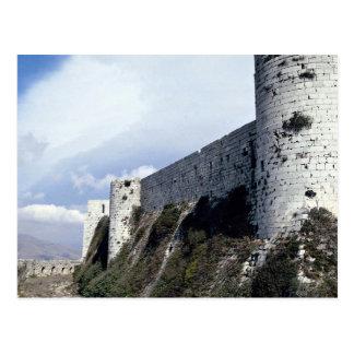 Äußere Wand, Krak DES-Ritter, Syrien Postkarte