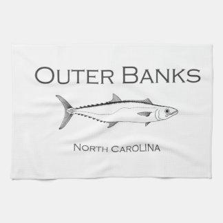 Äußerer Bank-North Carolina-König Makrele Handtuch