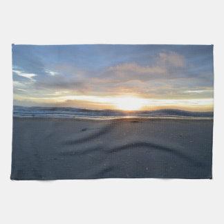 Äußerer Bank-Strand-Sonnenaufgang Küchentuch