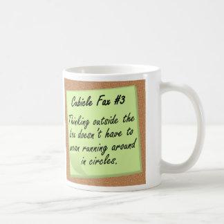 Außerhalb des Kastens Kaffeetasse