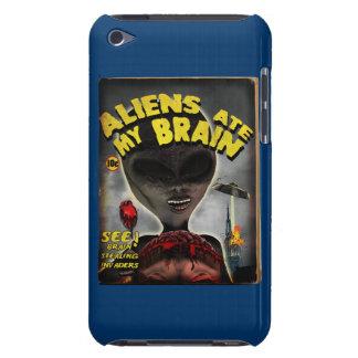 Außerirdische aß meinen Gehirn-Massen-Abdeckungs-A iPod Touch Cover