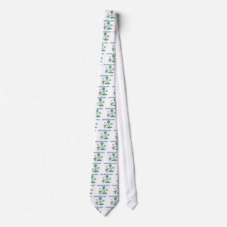 Außerirdische-Party Krawatte