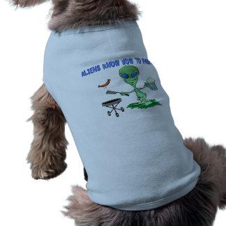 Außerirdische-Party Shirt