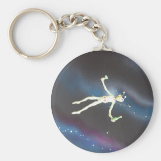 Außerirdische UFO-Entwurfs-Fotografie Schlüsselanhänger