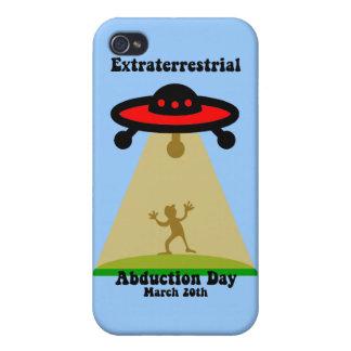 Außerirdischer Abduktions-Tag iPhone 4 Hülle
