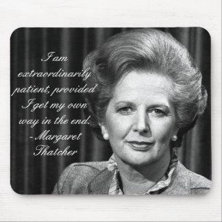Außerordentlich Patient - Frau Thatcher Mousepad
