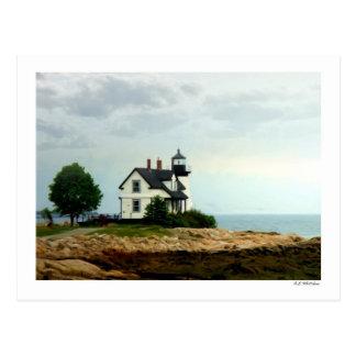 Aussicht-Hafen-Punkt-Licht Postkarte