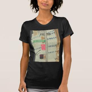 Austausch-Platz T-Shirt