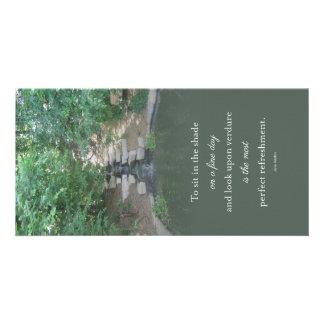 Austen Wasser-Fall-Teich Notecard Karte